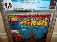 Spectacular Spider-Man #250 CGC 9.8 - John Romita - Green Goblin - Amazing art!