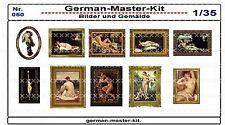 050, Diorama Zubehör Serie Bilder und Gemälde, 1:35, GMKT World of War II