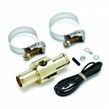 "Auto Meter 2281 Heater Hose Fitting Adapter, 3/4"", 1/8"" NPTF Female, Brass"