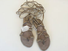 Dance Hermes Lyrical Sandals Shoes Tie Up by Leos Child Size 13M