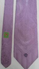 -AUTHENTIQUE cravate cravatte  VERSACE   100% soie  neuve  vintage