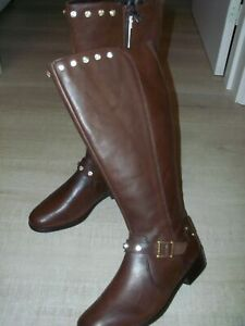 NEW Rocha John Rocha Customised Leather Boots Size UK 6 - Brown