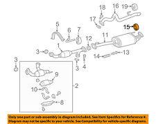 TOYOTA OEM Exhaust-Muffler & Pipe Hanger 175650P041
