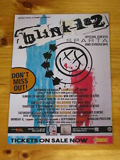 BLINK 182 - 2004  Australian Tour - Laminated Promotional Poster