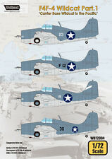 Wolfpack 1/72 F4F-4 Wildcat Part.1 'Carrier Base Wildcat in the Pacific- WD72004