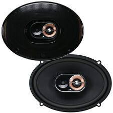 "Infinity Kappa 93IX 6"" x 9"" 3-Way Car Audio 2.5-Ohm Coaxial Speakers Coax NEW"