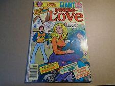 YOUNG LOVE #121 Girls Romance Giant Biker Cover DC Comics 1976 Bronze Age FN/VF