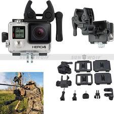 Fixed Clip Gun Monopod Sports Camera Mount Accessories for Gopro Hero 5 4 3+ 3 2
