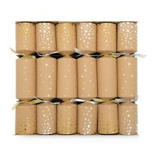 CHRISTMAS CRACKERS XMAS BON BONS STARRY WONDER TABLE DECORATION WOODEN GIFT *NEW