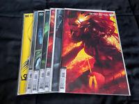 Dark Nights Death Metal #1-7 Variant Set 1st Prints DC 2020 Wonder Woman Batman