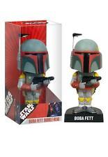 "Star Wars Science Fiction Lucas Films Boba Fett Bobblehead Nodder Wobbler 7"" New"