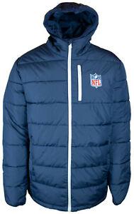NFL League Shield Logo Jacket Winter Jacket Outdoor Padded Jacket Hood Winter