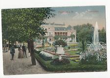 Germany - Frankfurt am Main - Palmengarten - 1900's card