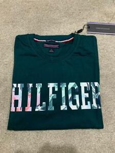 Tommy Hilfiger Men's Casual T-Shirt Green Colour Medium Size Pit to Pit 38'-40''