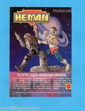 TOP990-PUBBLICITA'/ADVERTISING-1990- MATTEL HE-MAN - OPTIKK vs TATARUS