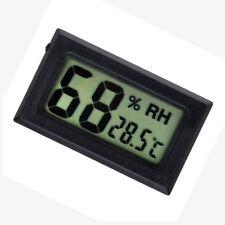 Digital Indoor Temperature, Humidity Gauge - Pet Reptile Thermometer Hygrometer