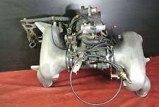 PORSCHE 911 964 3.6L ALUMINUM INTAKE MANIFOLD ASSEMBLY IDLE VALVE THROTTLE BODY