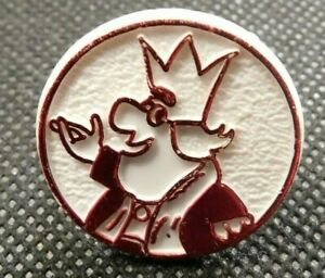 VINTAGE 1970'S BURGER KING PLASTIC RED AND WHITE RING!   e1962DXX