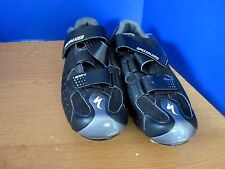 SPECIALIZED~Black CYCLING SHOES~Men's 10 or   Euro 43