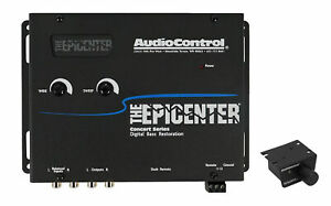 AudioControl The Epicenter Black Digital Car Bass Processor+Remote Audio Control