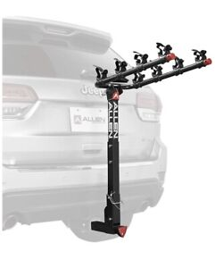 Allen Sports Deluxe Locking Hitch Four Bike Rack NEW FAST SHIPPING