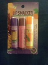 Lip Smacker Lip Balm 928 Vintage Trio 1980's / Sealed + Gift