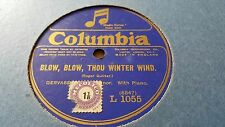 GERVASE ELWES BLOW BLOW THOU WINTER WIND & NOW SLEEPS THE CRIMSON COLUMBIA L1055