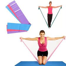 Banda Elastica Fitness 145 X 15 Cm Colorata Yoga Palestra Fascia Resistenza 3390