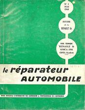 REVUE TECHNIQUE - LE REPARATEUR AUTOMOBILE  -  RENAULT 16 - 1968