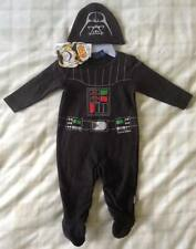 Baby Boy Star Wars Darth Vader All In One Romper/Babygrow/Playsuit/Fancy Dress