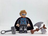 THOR NEW  ENDGAME SUPER HERO MINIFIG  CLASSIC The Lego Movie