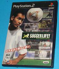 Soccer Life! - Sony Playstation 2 PS2 Japan - JAP