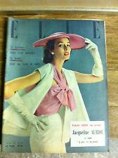COLLECTION magazines ELLE - Années 1951 à 1960