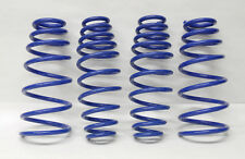 "Volkswagen Golf Jetta 1.8"" Drop Blue Suspension Lowering Springs Kit"