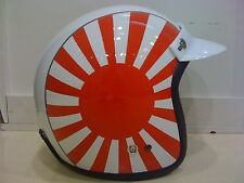 Vintage Vespa Scooter Motorcycle Helmet Japan DOT!!