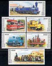 Guinea 1996 Trains/Tram/Steam/Transport 6v set (n27587)