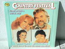 "*COUNTRY FESTIVAL-Kenny Rogers & Dottie West-12""In.LP*"