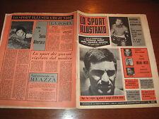 LO SPORT ILLUSTRATO GAZZETTA 1965/16 NEGRI POLONIA ITALIA 0-0 BURRUNI BOXE
