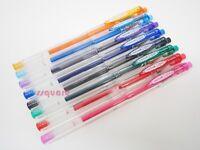8 Colours Set x Uni-Ball Signo UM-101ER Erasable 0.5mm Gel Ink Rollerball Pen