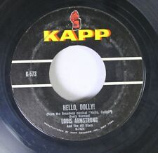 Jazz 45 Louis Armstrong And The All Stars - Hello, Dolly! / A Lot Of Livin' To D