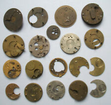Vintage Pocket Watch Various Parts