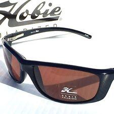 649b72c173 NEW  HOBIE VENICE Black Sport w POLARIZED Copper Bronze Lens Sunglass  160