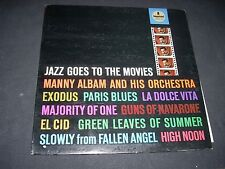 JAZZ GOES TO THE MOVIES LP Manny Albam Impulse A-19 VG