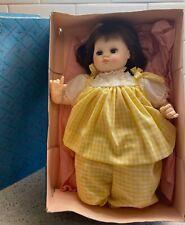 Vintage Madame Alexander Baby Doll Puddin' in Original Box Brunette