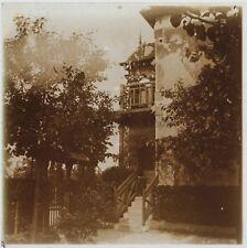 Robinson Villa Bayot Ile de France Photo Plaque Stereo Vintage
