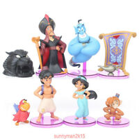 Fairytale Aladdin and His Lamp Princess Jasmine Collection Doll Set 8 pcs/lot