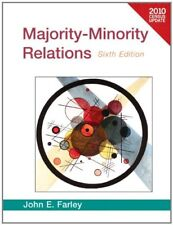 Majority-Minority Relations Census Update (6th Edition) by Farley, John E.