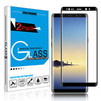 9H Curved Full Cover Tempered Glass Screen Protector for Samsung Galaxy Note 8/9
