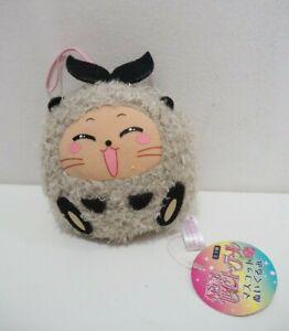 "Kaitou Saint Tail Ruby Mascot Strap Plush 4"" Stuffed TAG Toy Doll Japan"
