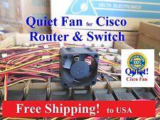 1x Quiet Version Sunon Replacement fan Cisco C3560-24PS/48PS C3750-24PS/48PS